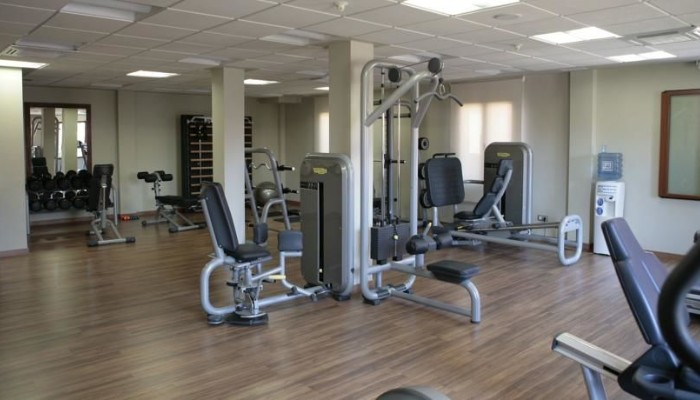 Gym in residential soccer academy
