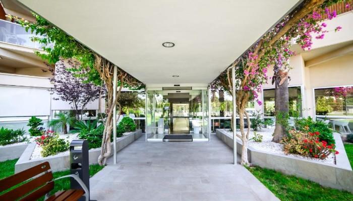 Academy residence entrance