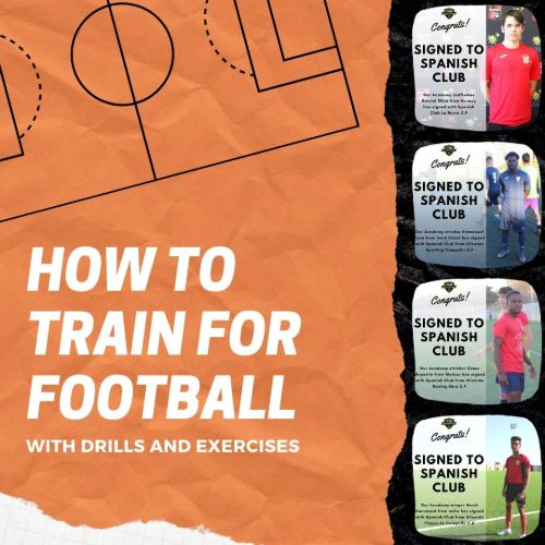 how to train for football and soccer drills